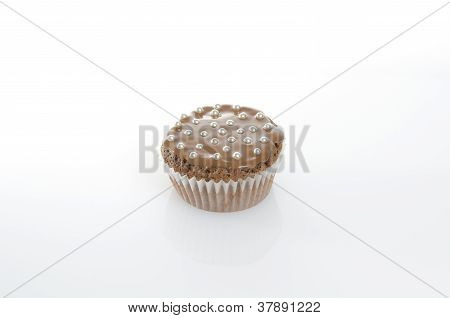 Sweet Muffins On White Background
