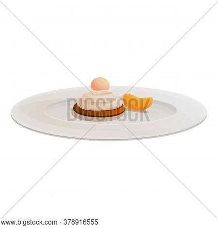 Dessert Molecular Cuisine Icon. Cartoon Of Dessert Molecular Cuisine Vector Icon For Web Design Isol