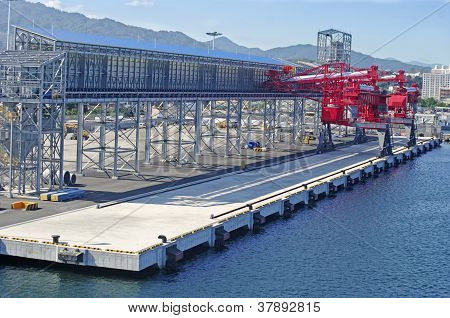 Petrochemical Terminal For Loading Of Chemicals On A Vessel