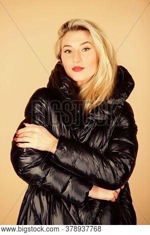 Cute And Stylish. Beauty In Winter Clothing. Cold Season Shopping. Happy Winter Holidays. Xmas Comin