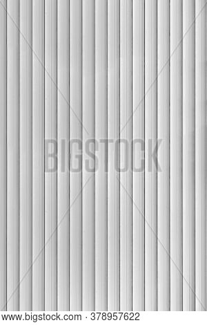 Roller Shutters Texture Of An Iron Protective Structure With A Vertical Stripe Anti-vandal Coating C