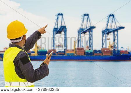 Port Control Engineer, Ship Transport, Harbor.