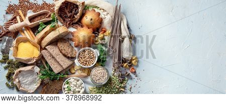 Different Types Of High Carbohydrate Food.