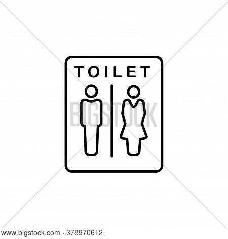 Illustration Vector Graphic Of Toilet Icon Template