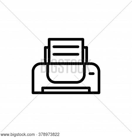 Illustration Vector Graphic Of Printer Icon Template