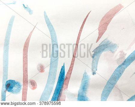 Distress Line Pattern. Stripe Drawn Grungy Painting. Background Distress Line Pattern. Cartoon Baby