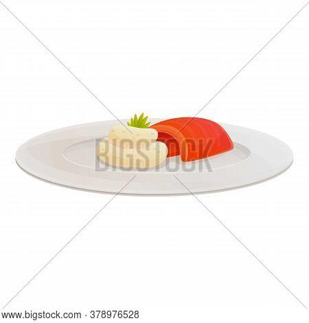 Organic Molecular Italian Food Icon. Cartoon Of Organic Molecular Italian Food Vector Icon For Web D