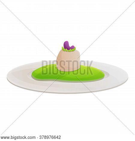 Eco Molecular Cuisine Icon. Cartoon Of Eco Molecular Cuisine Vector Icon For Web Design Isolated On