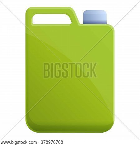 Fertilizer Canister Icon. Cartoon Of Fertilizer Canister Vector Icon For Web Design Isolated On Whit