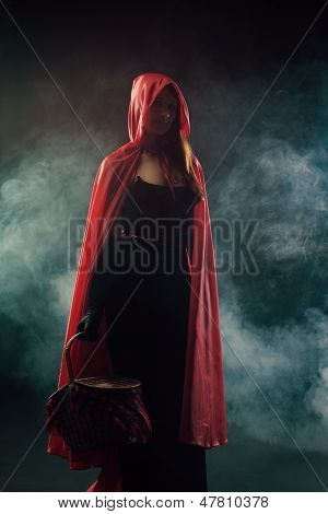 Red Riding Hood from Grimms' Fairy Tales poster
