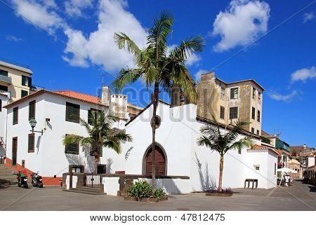 Largo Corpo Santo Church in Funchal  Madeira