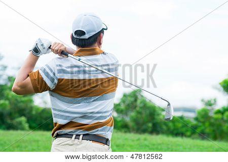 Active Golf Player
