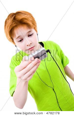 Listens To Music