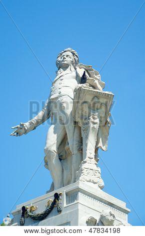 Monument To Mozart, Vienna, Austria