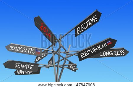 election 2014 choice conceptual post