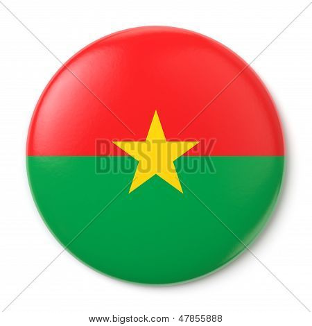 Burkina Faso Pin-back