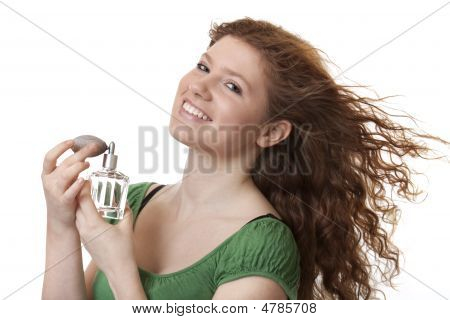 Teenager With Perfume