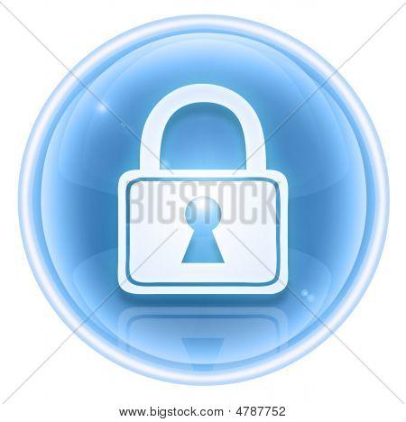 Lock Icon Ice