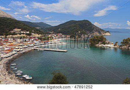 Parga summer resort in Greece
