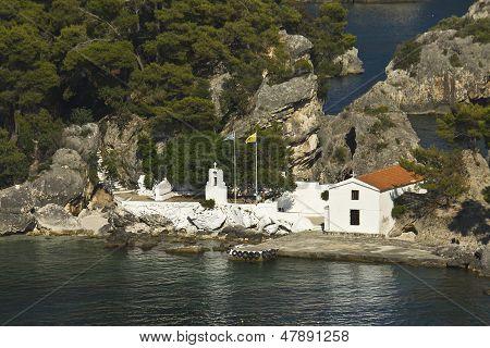 Parga bay in Greece