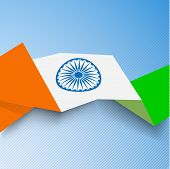 Creative concept for Indian Independence Day and Republic Day.  poster