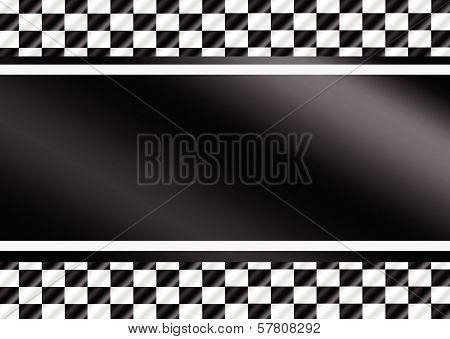 Design Race Flag Checkered Flags set