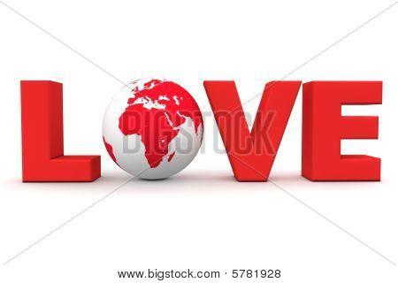 Amo mundo vermelho