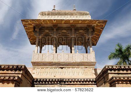Ancient Indian Palace In Bundi