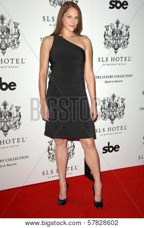 Amanda Righetti   at the Grand Opening of SLS Hotel. SLS Hotel, Los Angeles, CA. 12-04-08