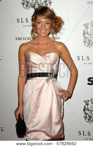 Jasmine Dustin   at the Grand Opening of SLS Hotel. SLS Hotel, Los Angeles, CA. 12-04-08