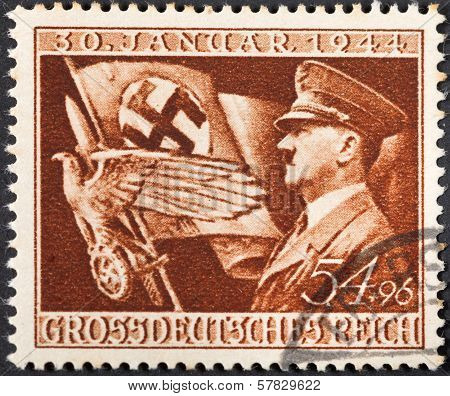 Adolf Hitler And Symbols Of Therd Reich