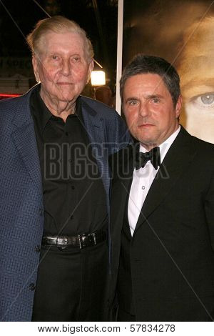 Sumner Redstone and Brad Grey   at the Los Angeles Premiere of 'The Curious Case of Benjamin Button'. Mann's Village Theater, Westwood, CA. 12-08-08