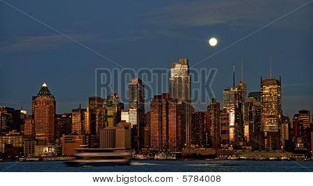Foto Skyline von New York Stadt, usa