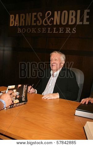 Hugh Hefner   at an in store appearance signing copies of his books 'Mr. Playboy' and 'Playboy The Complete Centerfolds'. Barnes and Noble the Grove, Los Angeles, CA. 12-16-08