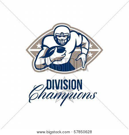 American Football Runningback Division Champions