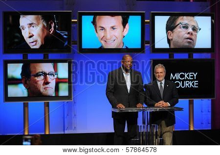 Forest Whitaker and Sid Ganis  at the Academy of Motion Picture Arts and Sciences press conference to announce the nominations for the 81st Academy Awards. AMPAS, Beverly Hills, CA. 01-22-09