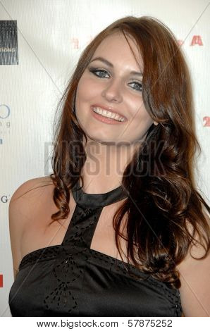 Ariel Teal Toombs at the Los Angeles Premiere of '2 Dudes and a Dream'. Arclight Hollywood, Hollywood, CA. 02-03-09