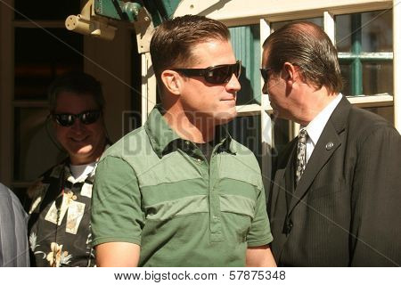 George Eads  at the ceremony honoring William Peterson with a star on the Hollywood Walk of Fame. Hollywood Boulevard, Hollywood, CA. 02-03-09