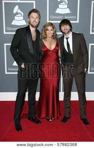 Lady Antebellum at the 51st Annual GRAMMY Awards. Staples Center, Los Angeles, CA. 02-08-09