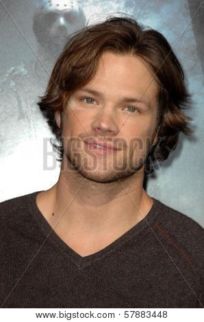 Jared Padalecki at the Los Angeles Premiere of 'Friday the 13th'. Grauman's Chinese Theatre, Hollywood, CA. 02-09-09