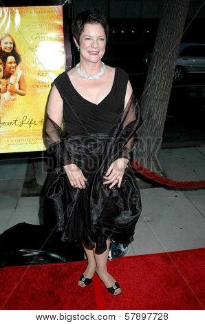 Sue Monk Kidd  at the Los Angeles Premiere of 'The Secret Life of Bees'. Academy of Motion Arts and Science's, Beverly Hills, CA. 10-06-08