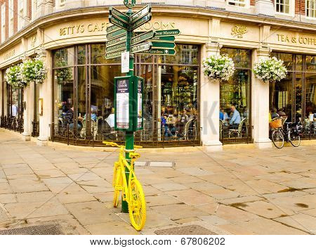 The famous Betty's Tea Rooms York England.