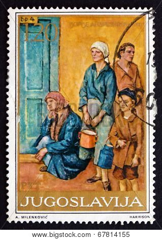 Postage Stamp Yugoslavia 1975 Soup Kitchen, By Dorde Andrejevic-