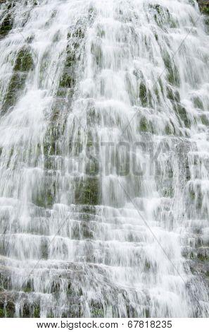 Cola de Caballo waterfall in Ordesa National Park, Pyrenees, Huesca, Aragon, Spain