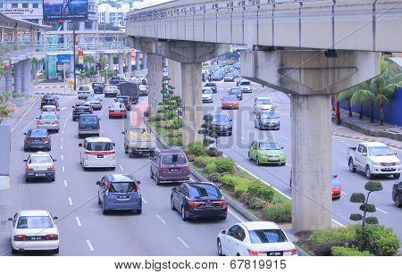 Traffic Jam Kuala Lumpur