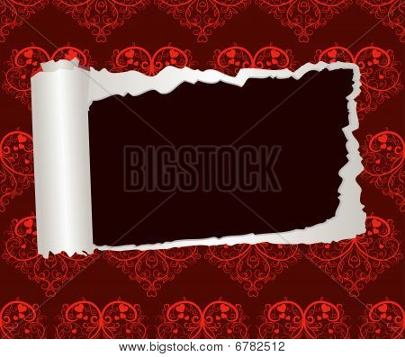 Valentines Day decorative paper