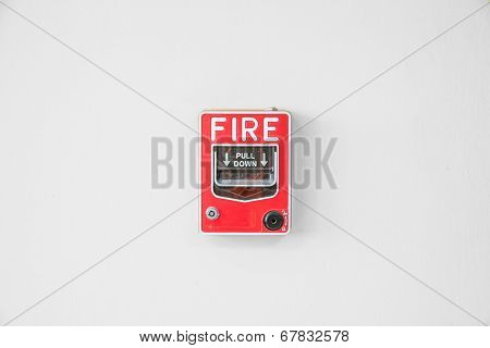 Fire Alarm Switch In Factory