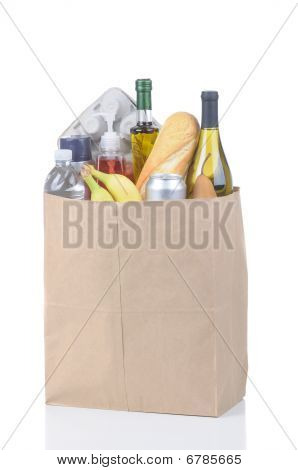Grocery Bag No Handles