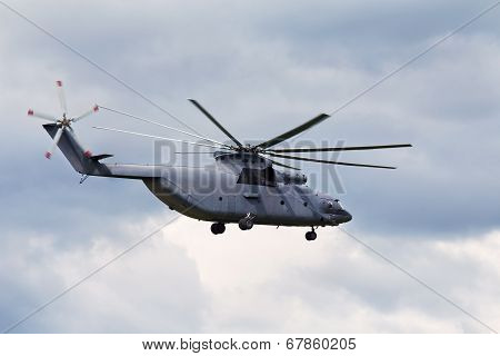 Transport Helicopter.