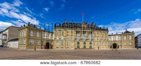 Christian VIII's Palace in Copenhagen - Denmark poster
